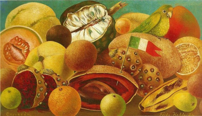 Still Life with Parrot and Flag, 1951